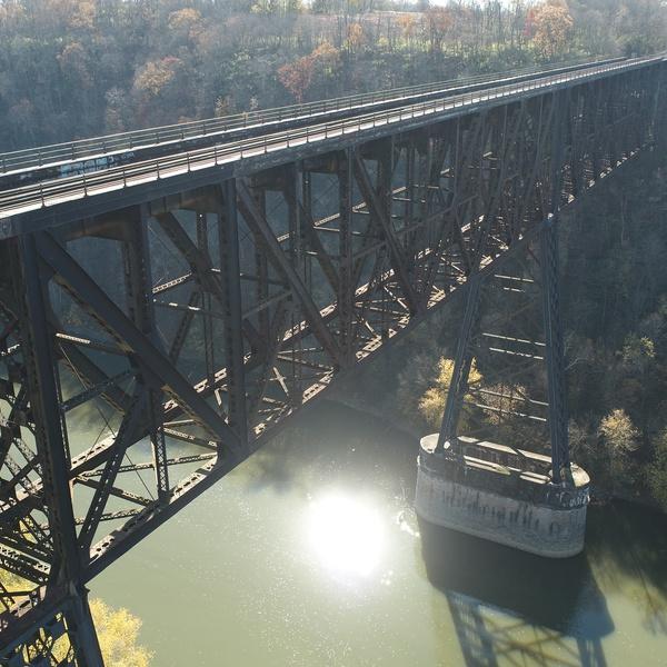 High Bridge visual inspection, Wilmore, Kentucky