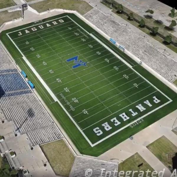 High School Stadium 3d Model (1)