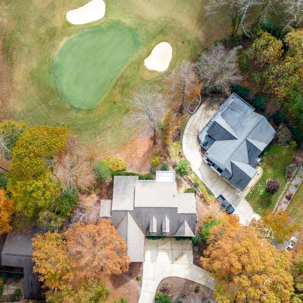 House on a Golf Course