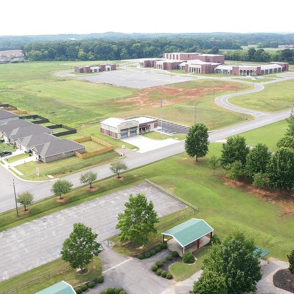 High School and Fire dept.- Priceville, Alabama