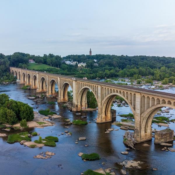ACL Railroad Bridge, Richmond, Virginia