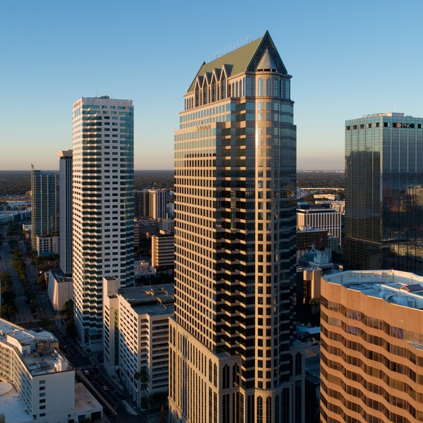 Downtown Tampa@Golden Hour