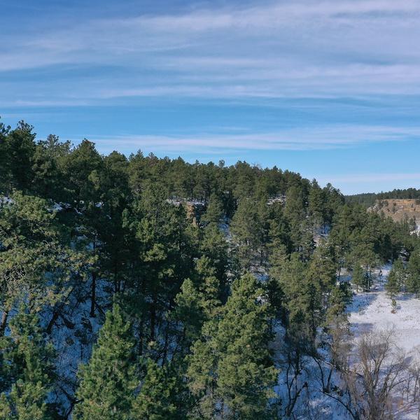 Winter SD Cave Hills
