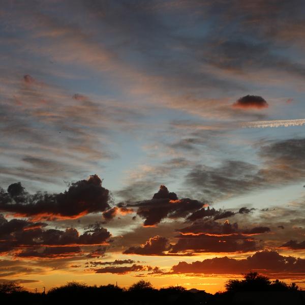 Sunset Tucson 8.15.19