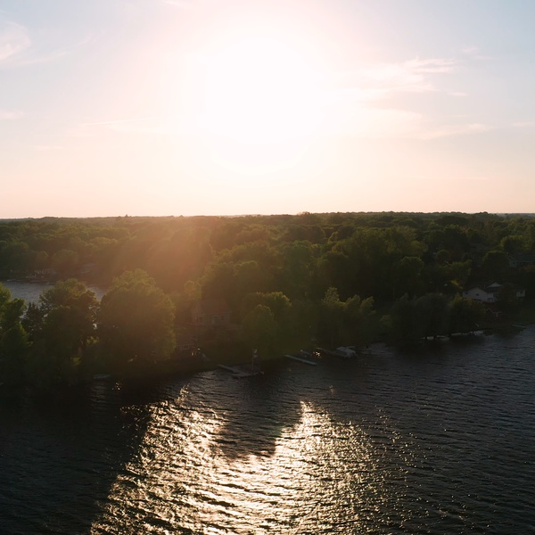 Sunshine on Center Lake