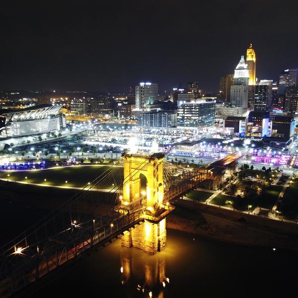 Cincinnati Ohio Blink Festival 2017