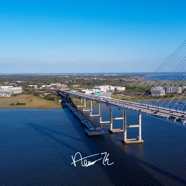 Ravenel Bridge Front View (Charleston, SC)