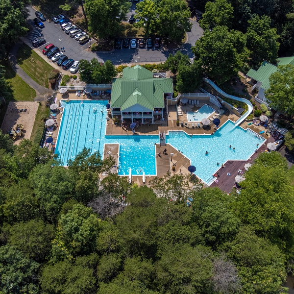Forest Lakes North Pool and Club House, Charlottesville, Virginia
