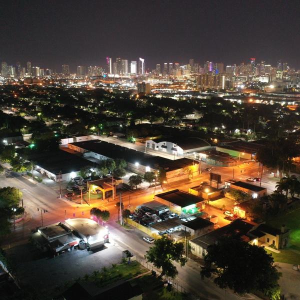 Miami nightime