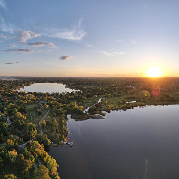 Lake Hiawatha Panorama
