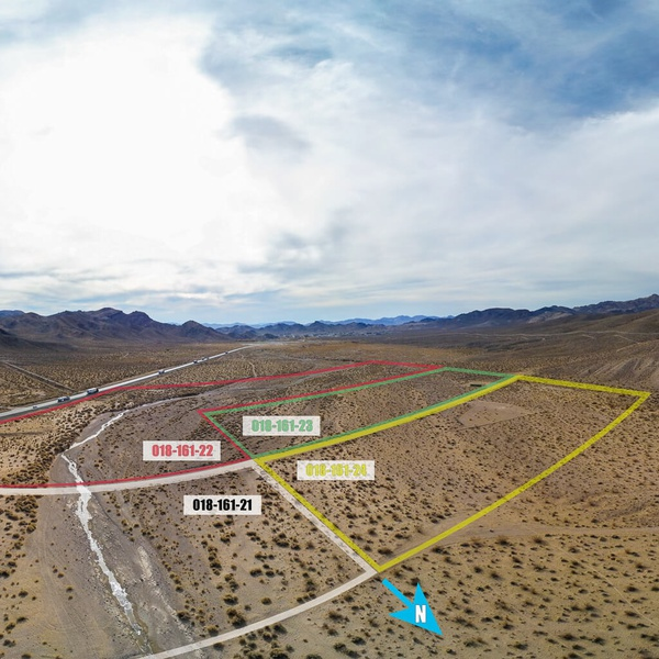 Rural Vacant Land Real Estate (w/ Lot Line Overlay)