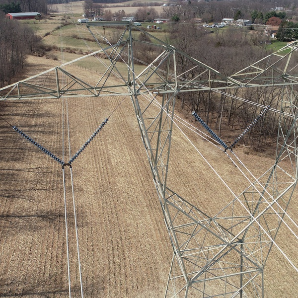 Power Transmission Tower Insulator Inspection