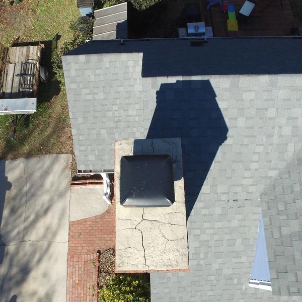 Chimney maintenance repair Lot #274