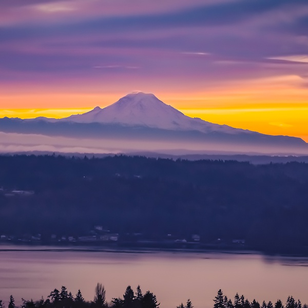 Mount Rainer.