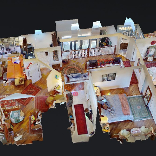 Inside home. Doll House View