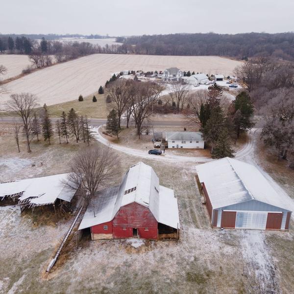 Minnesota Farm, Winter
