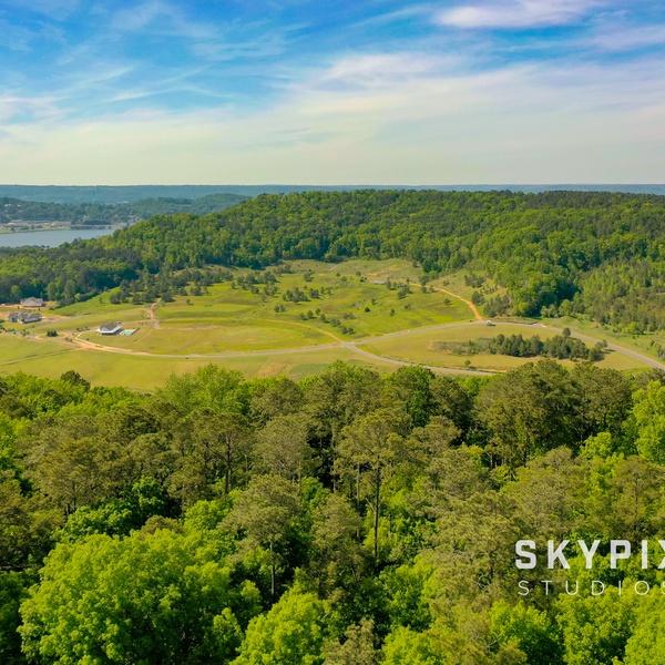 SouthWater, Lake Guntersville. Aerial Marketing Image
