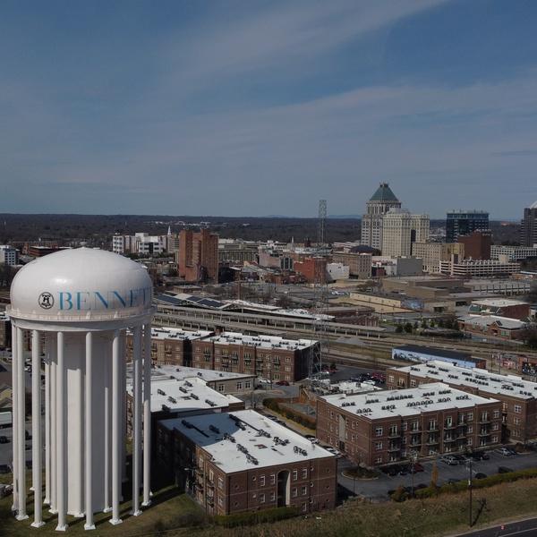 Greensboro City Scape 1