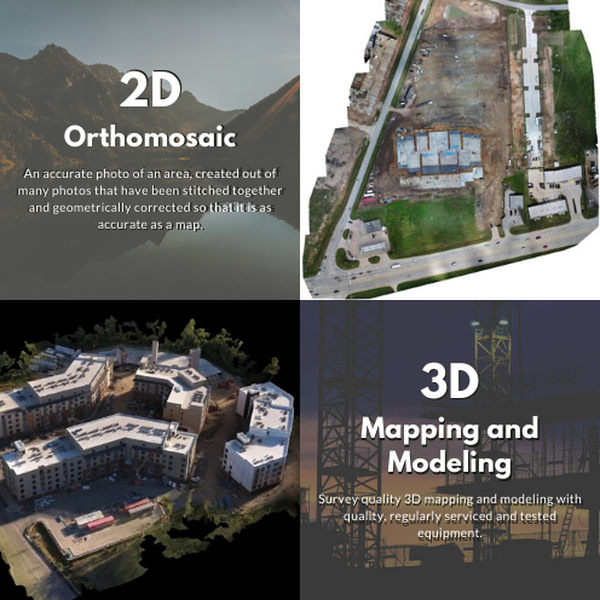 Jone Aerial Services: 2D and 3D Mapping and Modeling