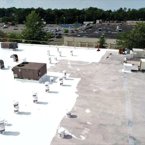 Roof Repair Progress