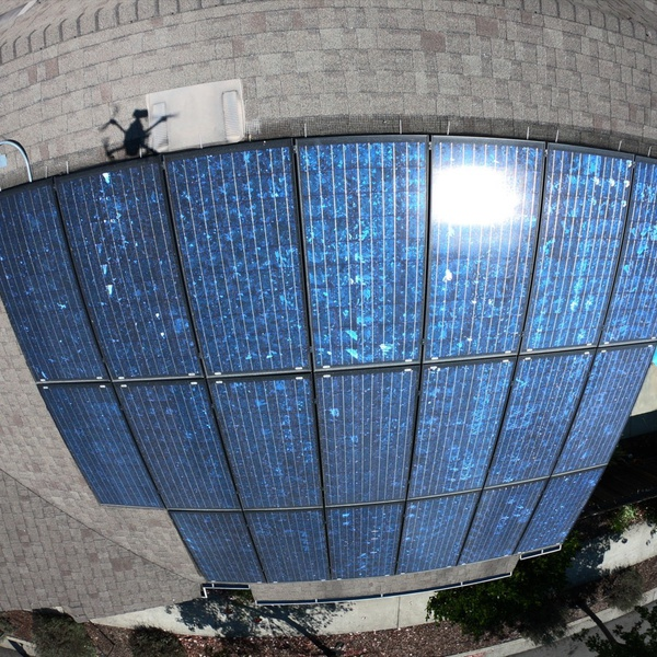 Roof and Solar Inspection Aerial