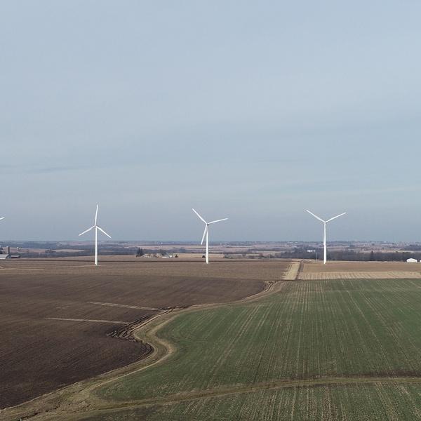 Wind Farm Panorama