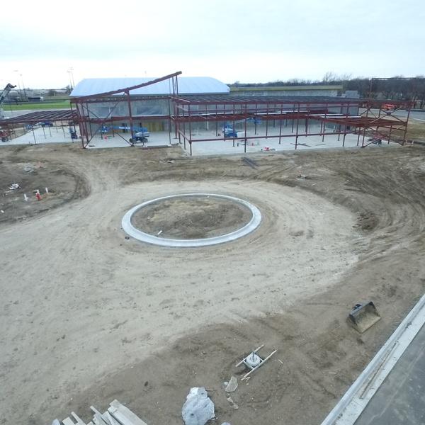 Construction progess