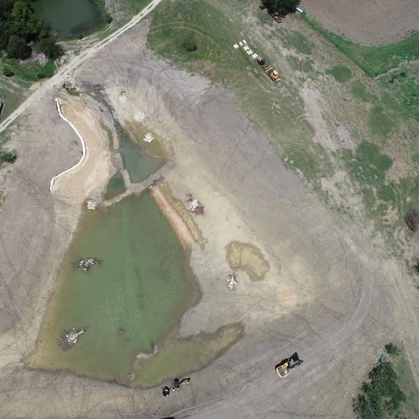 Lake Construction Progress