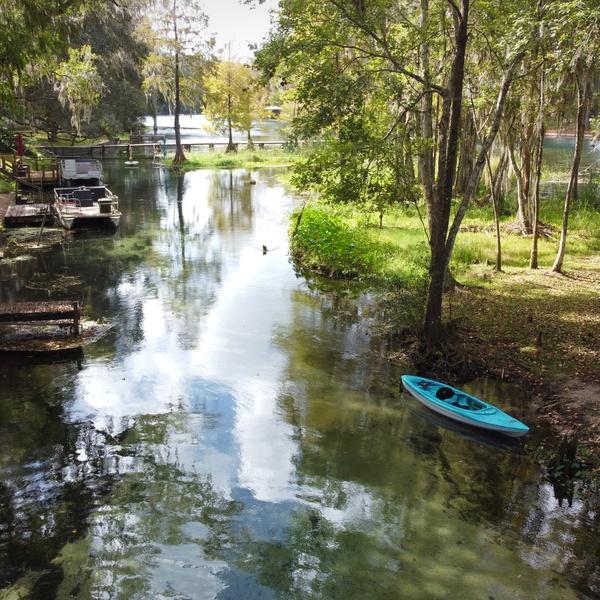 River w/ kayak
