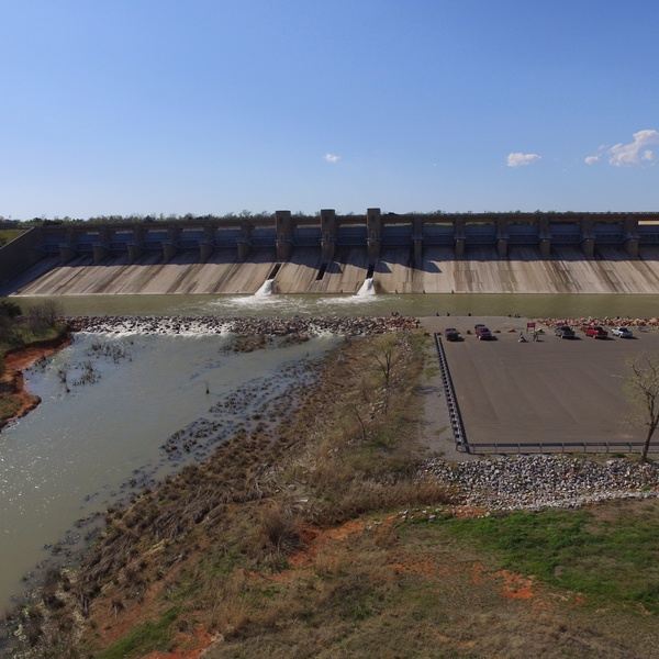 Canton Lake Dam