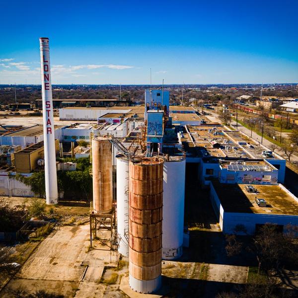 Abandoned Lone Star Brewery, San Antonio, TX