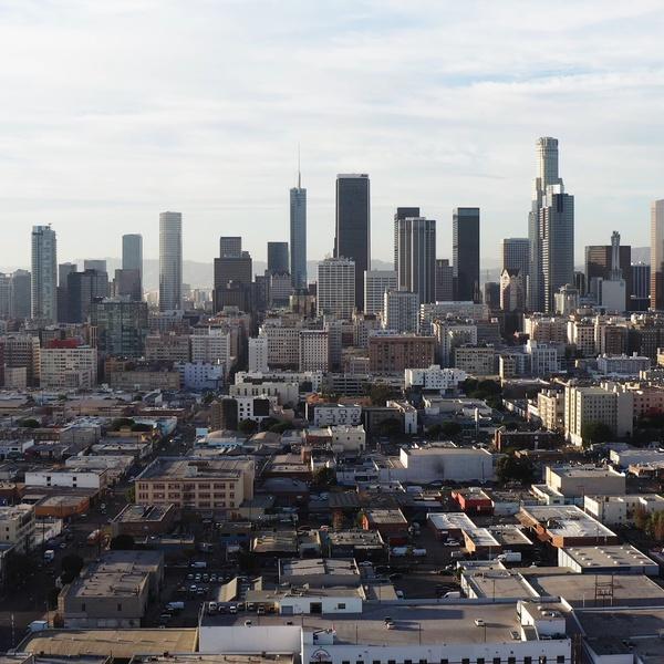 Downtown Los Angeles Skyline 2020