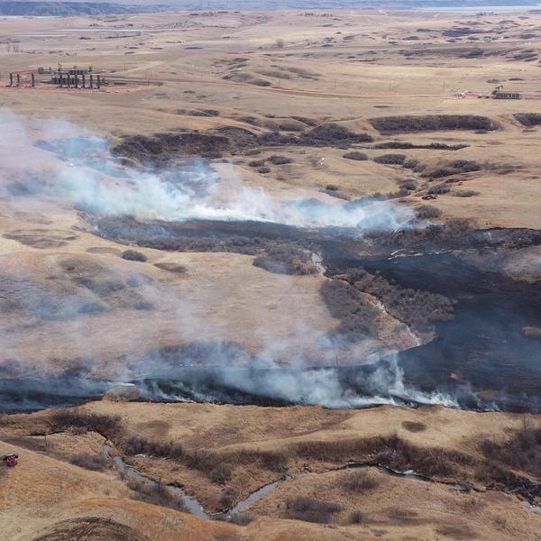 Prairie Fire, New Town ND