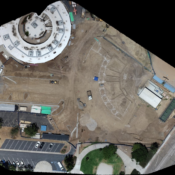 School Contruction Site Orthomosaic