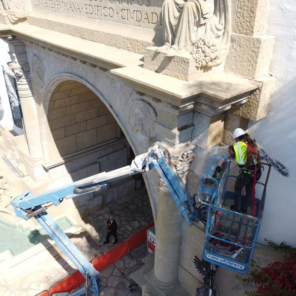 Federal Historical Landmark renovation, with collaboration from Superior Courts, County Architects, and Federal Marshal Service