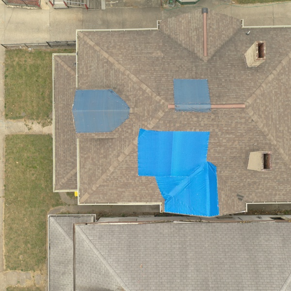 Top-Down for Roof Inspection