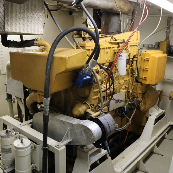 Shrimp Boat Engine