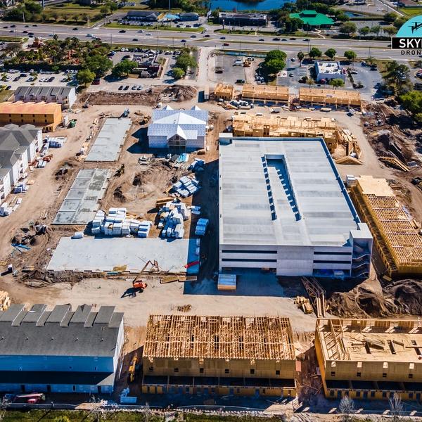 Construction Progression Photography in Orlando