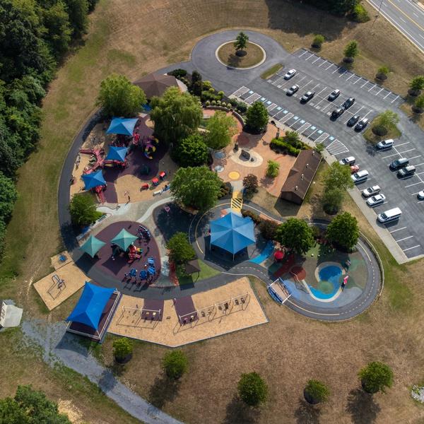 A Dream Come True Playground, Harrisonburg, Virginia
