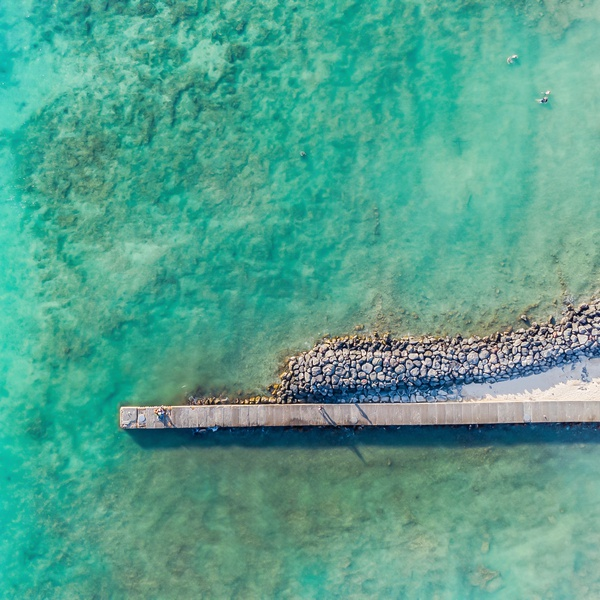 Hawaii Ocean Beach Pier