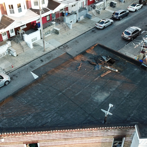 Sample of roof inspection