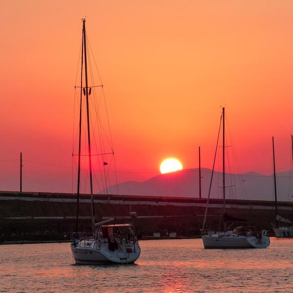 CA Fire Sunset
