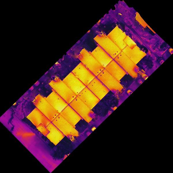 Mapping orthomosaic photos