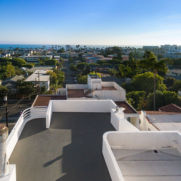 Roof inspection with a view