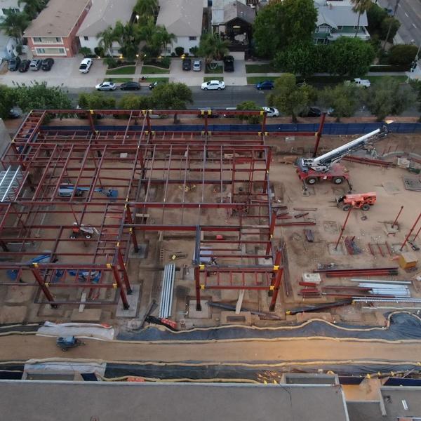Pacific Beach Middle School Construction, San Diego, CA