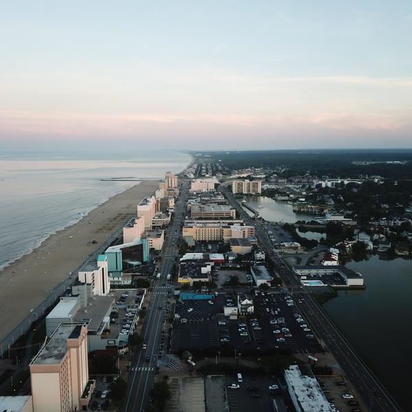 Virginia Beach down the Strip (Recreational)