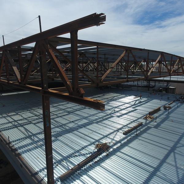 Steel Truss Inspection for New Construction, Marketing Shot