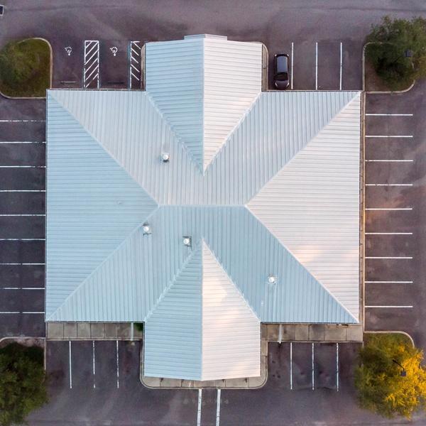 Office Building Overhead