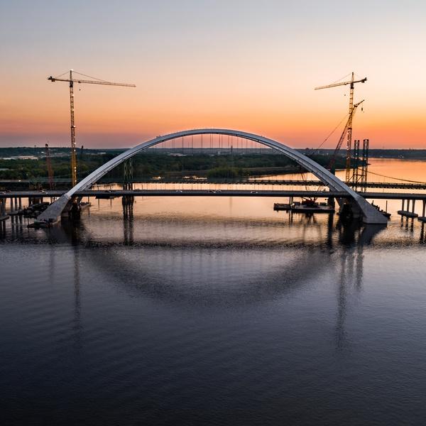 Iowa & Illinois Bridge Construction