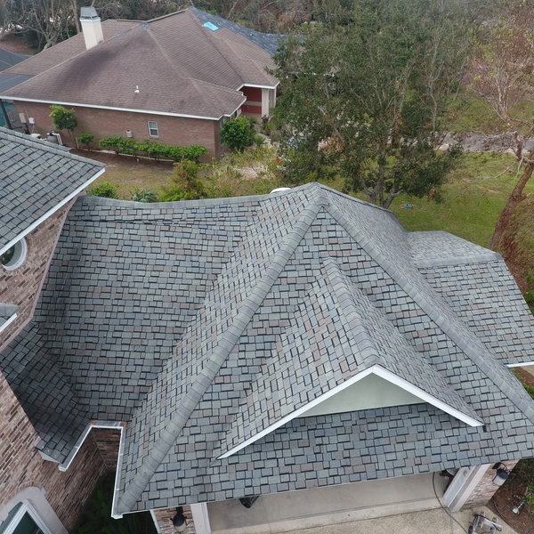 GulfShores damage review prior to ordering special shingles